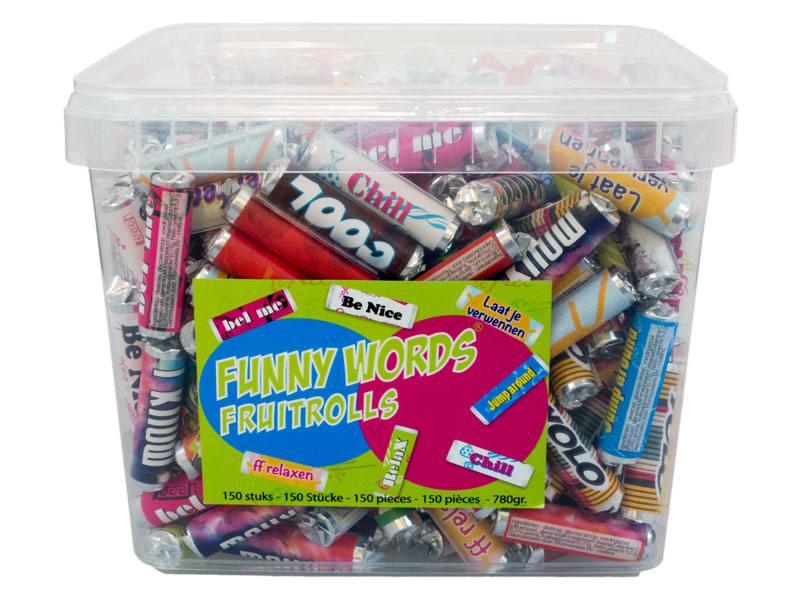Funny Words ppbox 400 pieces