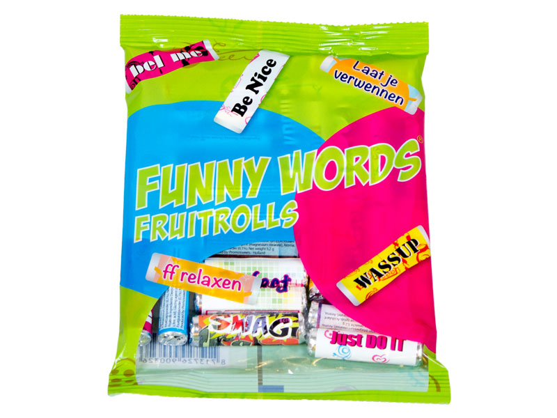 Funny Words bag 25 pieces