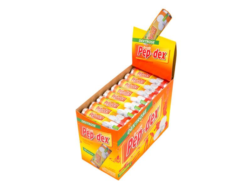 Fruit-mint rolls midi showbox fruit 48 pieces