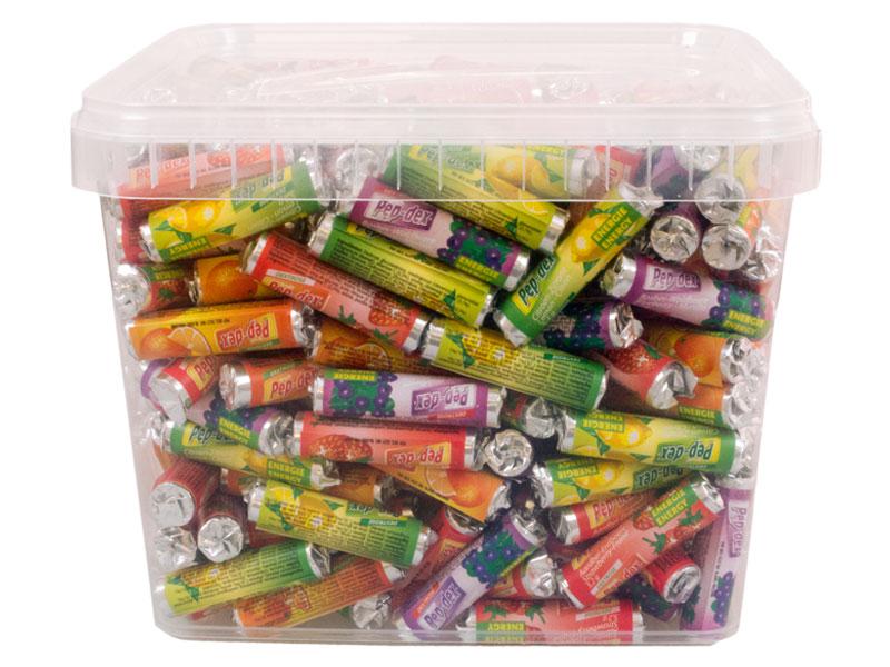 Fruit rolletjes mini PPBox 400 stuks