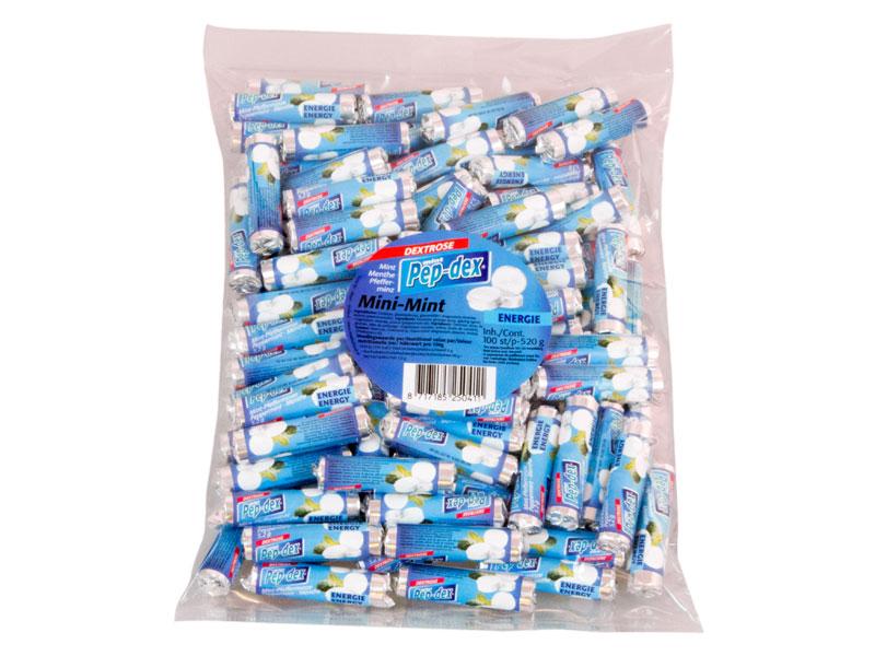Mint rolletjes mini zak 100 stuks