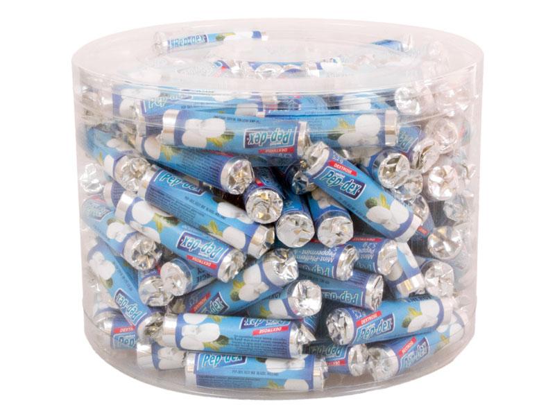 Mint rolletjes mini silo 150 stuks